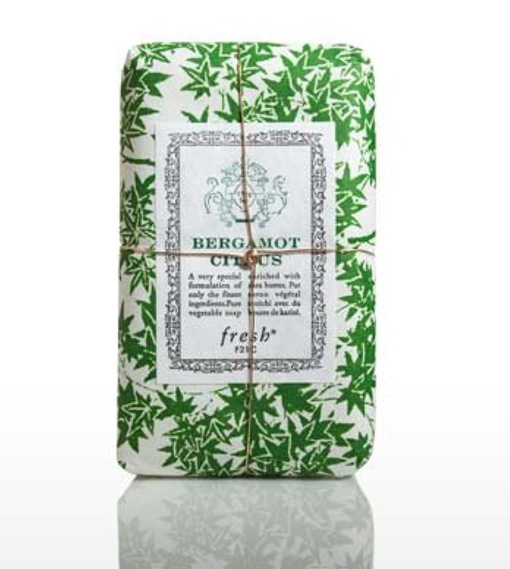 リーフレット強いリダクターFresh BERGAMOT CITRUS (フレッシュ ベルガモントシトラス) 5.0 oz (150g) Soap (石鹸) by Fresh