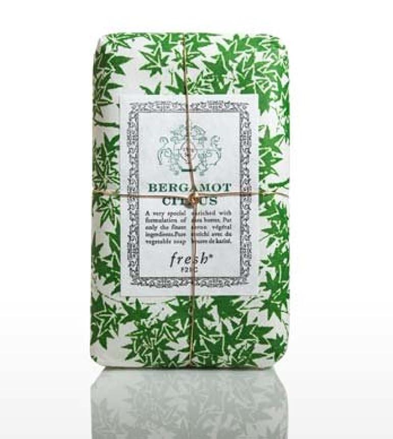 反論協定印をつけるFresh BERGAMOT CITRUS (フレッシュ ベルガモントシトラス) 5.0 oz (150g) Soap (石鹸) by Fresh