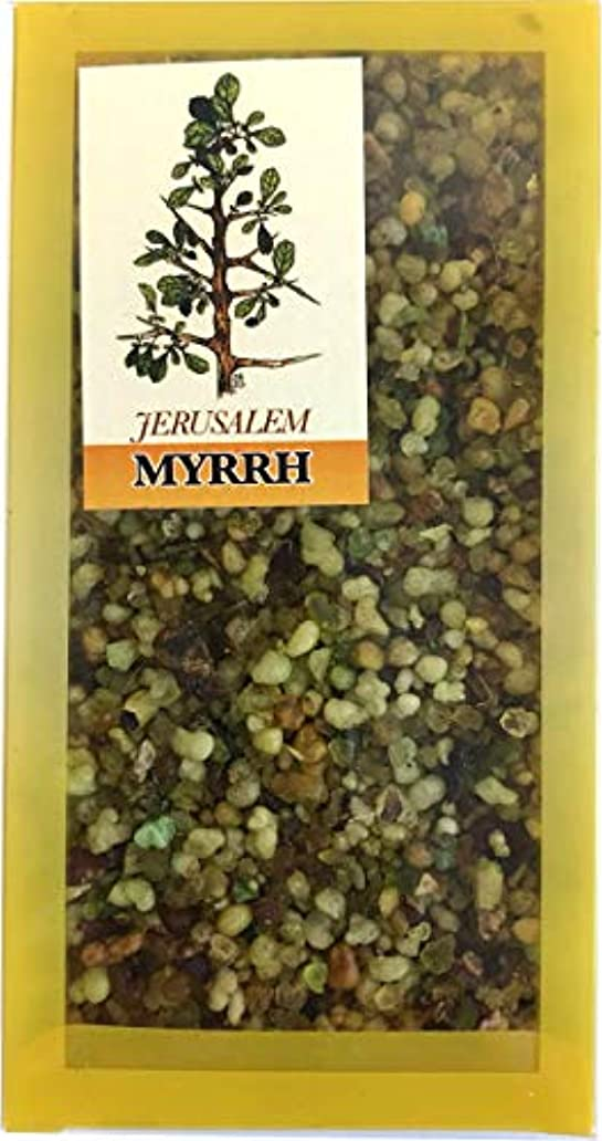 幻滅確立しますクレジットHoly Land Market エルサレムミルラ 聖地からの香り 100グラム(3.5オンス)