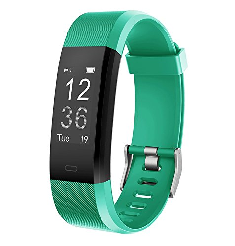 Muziliスマートウォッチ スマートブレスレット Fitness Trackerスポーツスマートウォッチ 睡眠管理/着信電話通知/活動量計/遠隔カメラなどの機能 男女兼用 iOS&Android対応 日本語取扱説明書付き(グリーン)