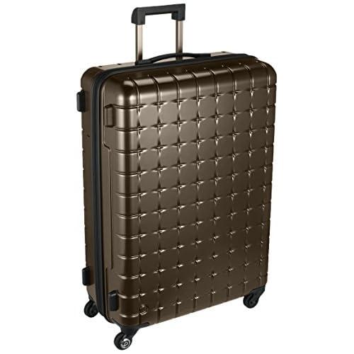 [プロテカ] Proteca スーツケース 日本製 360s(スリーシックスティエス)メタリック 3年保証 サイレントキャスター 71cm 85L 02724 05 (ブラウン)