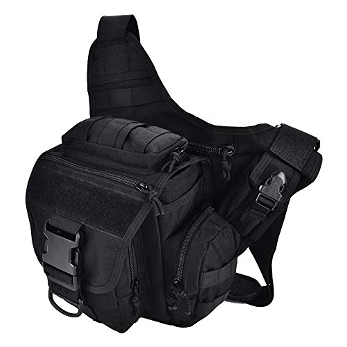闇追記緩めるチェストバッグ ワンショルダーバッグ 通気性 防水性 調整可能なストラップ