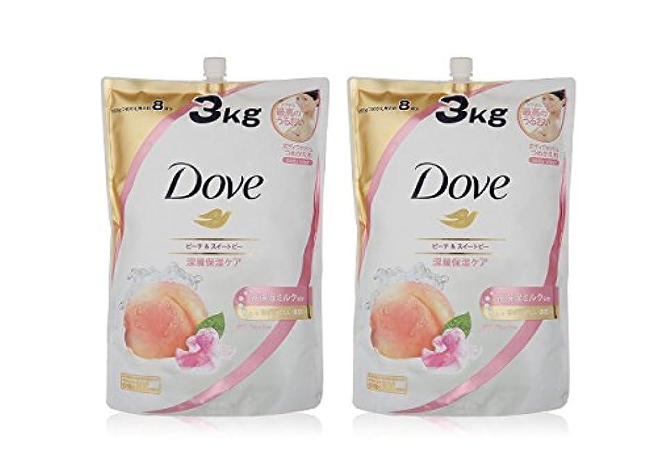 プランテーション論争Dove ダヴ ボディウォッシュ ハーモニー つめかえ用 3kg × 2