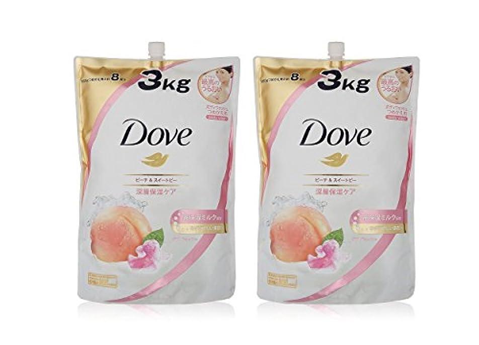 乳剤反対に咽頭Dove ダヴ ボディウォッシュ ハーモニー つめかえ用 3kg × 2