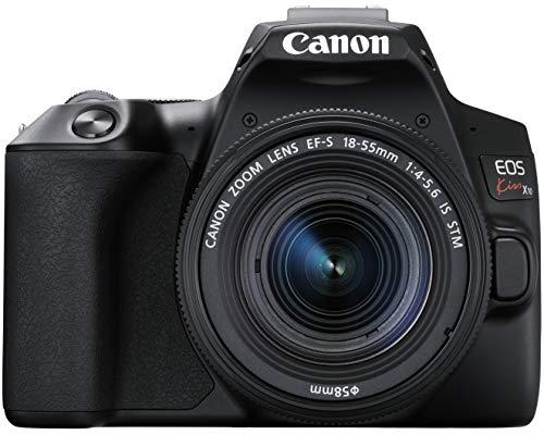 デジタル一眼レフカメラ EOS Kiss X10ブラック(W)・EF-S18-55 IS STM レンズキット キヤノン KISSX10BK-1855ISSTMLK