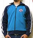 (サムライジーンズ)SAMURAI JEANS トラックジャケット ジャージ ジップアップ 2ライン 倶楽部 SCJS14-101 XL レッド