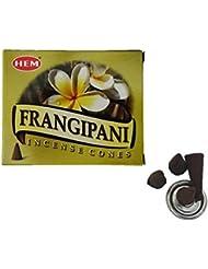 HEM(ヘム)お香 フランジパニ コーン 1箱