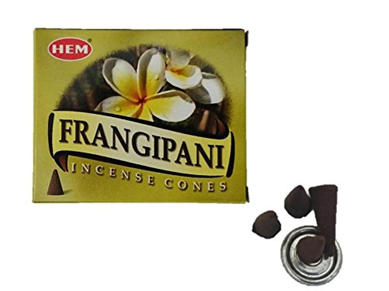 後なんでも氏HEM(ヘム)お香 フランジパニ コーン 1箱