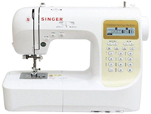 SINGER コンピューターミシン 文字縫い機能搭載(ひらがな・数字・アルファベット・漢字) 模様数207種類 フットコントローラー付き SN777DX