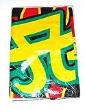 浜崎あゆみ タオル 2002 アリーナツアー スポーツタオル・ブラック・イエロー・グリーン・レッド