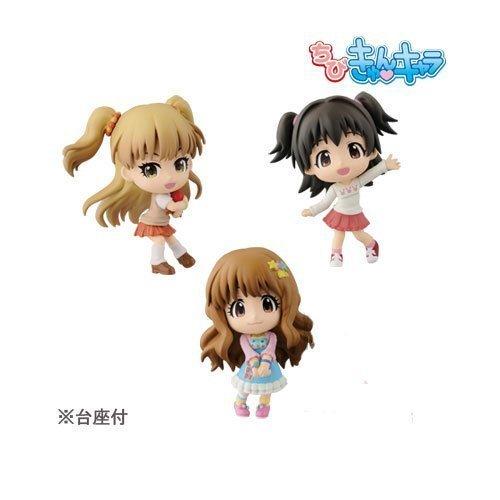 ちびきゅんキャラ アイドルマスター シンデレラガールズ PASSION VISUAL フィギュア プライズ バンプレスト(全3種セット)