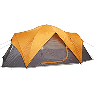 Amazonベーシック テント 最大8人用 防水 軽量 組み立て簡単 キャリーバッグ付き