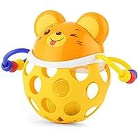 ベビーソフト手ボールおもちゃベビーRattleおもちゃShakerベルおもちゃFitnessボールおもちゃ