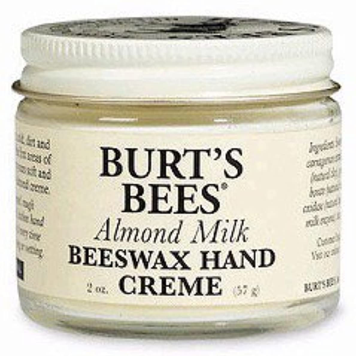 紛争スペシャリスト製品バーツビーズ(Burt's Bees) アーモンドミルク?ビーズワックス?ハンドクリーム 57g [海外直送品][並行輸入品]