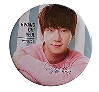 ファン・チヨル/hwang chi yeul B ポケットミラー(鏡) 缶バッチミラー