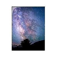 星雲の暗い光の銀河の星 台所のタイルタイルが装飾を飾る