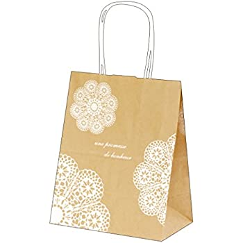 b01628f2bcd6 Amazon   AZOWA手提 紙袋 未晒 クラフトギフト紙袋 紙収納袋25枚 ディ ...