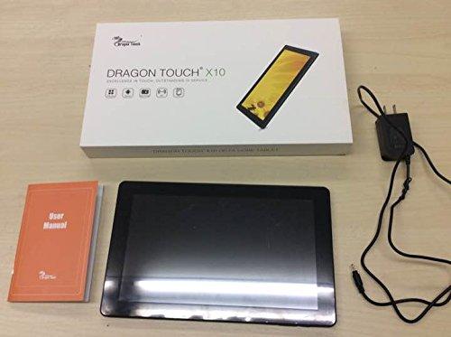 Dragon Touch X10 10.6 インチ オクトコアタブレット PC Android 5.1 Lollipop、16GB メモリ IPSディスプレイ 1366x768 デュアルカメラ Bluetooth搭載 Mini HDMIアウトプット