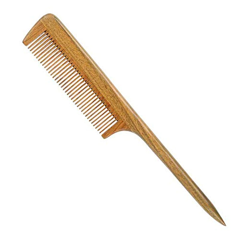 サイレンラバクローンヘアーコーム ニードルテールの櫛帯電防止耐熱美容師の特別な尖った櫛 理髪の櫛