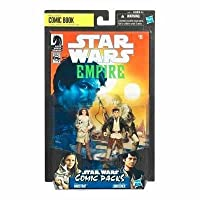 Star Wars 2010 Comic Book Action Figure 2Pack Dark Horse Star Wars Empire #8 Camie Marstrap and Laze Fixer Loneozner