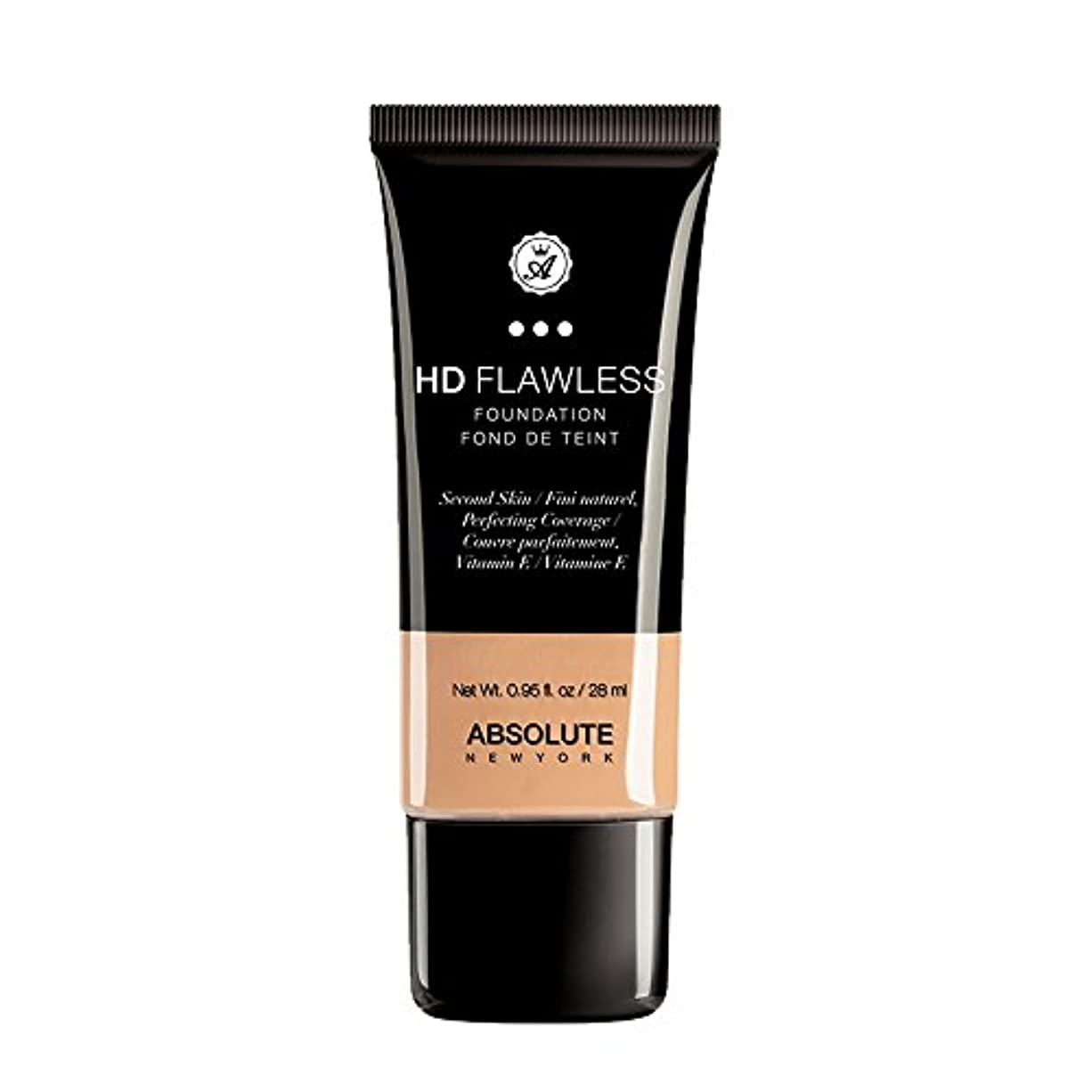 (6 Pack) ABSOLUTE HD Flawless Fluid Foundation - Natural (並行輸入品)