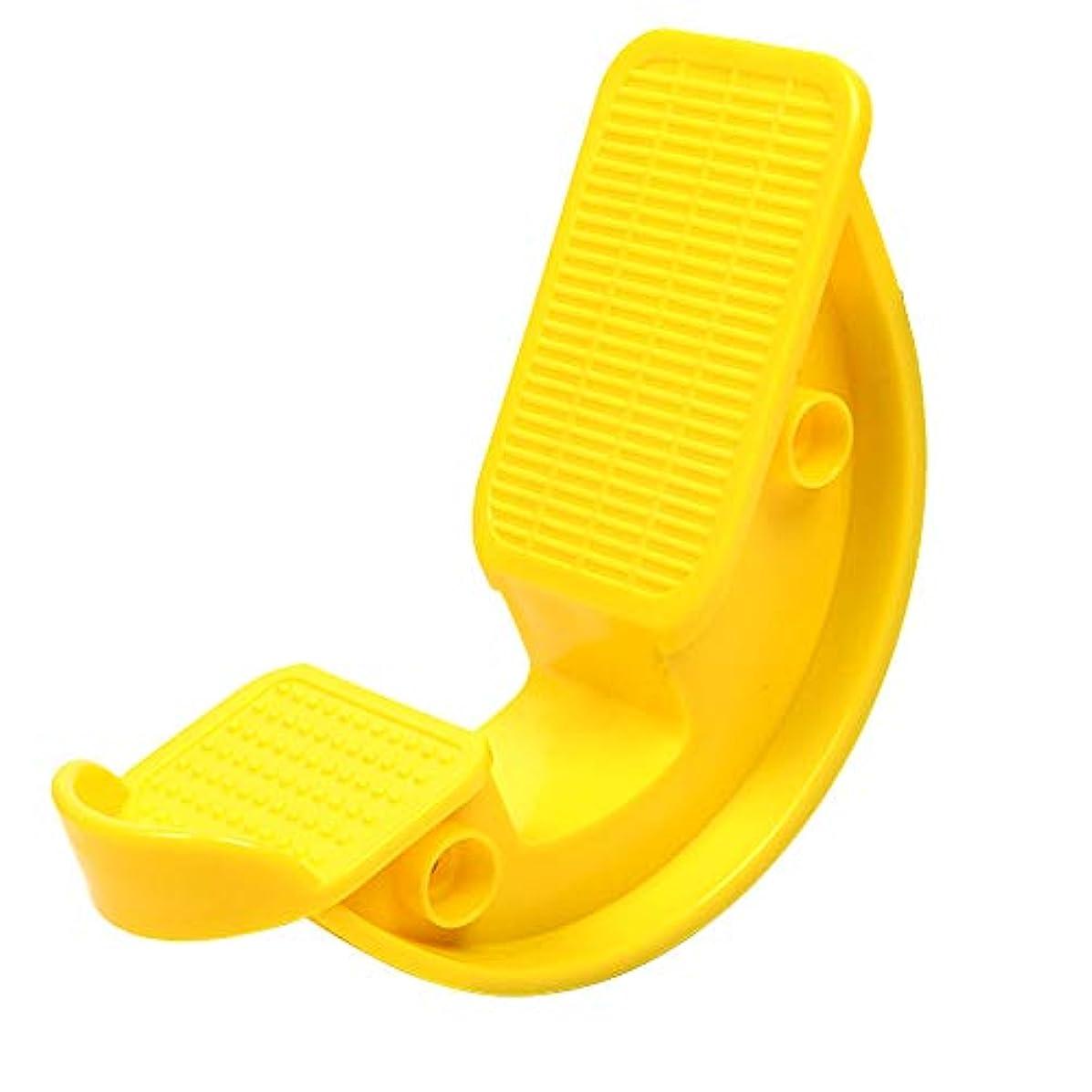 公小人気まぐれな足のロッカーふくらはぎストレッチャーの痛みを軽減し、筋肉ストレッチ、ヨガフィットネス十二指腸筋膜炎腱炎ツールフットロッカー。