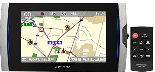 コムテック レーダー探知機 ZERO 903VS 無料データ更新 移動式オービス/小型オービス/ゾーン30対応 フルマ...