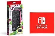Nintendo Switchキャリングケース スプラトゥーン2エディション (画面保護シート付き) (【Amazon.co.jp限定】Nintendo Switch ロゴデザイン マイクロファイバークロス 同梱)