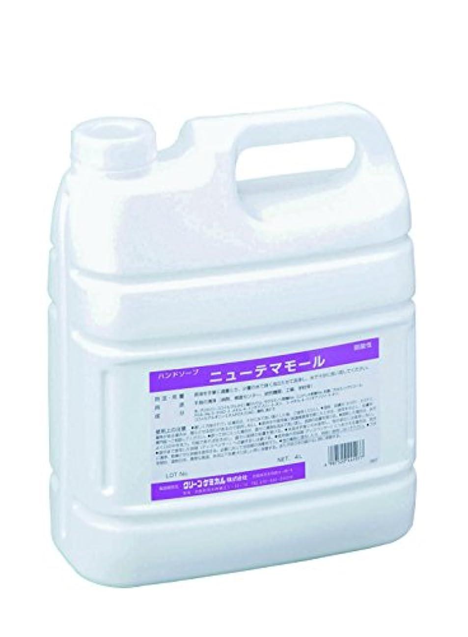 炭水化物扱う人形ハンドソープ 減容容器タイプ 4L /8-1944-02