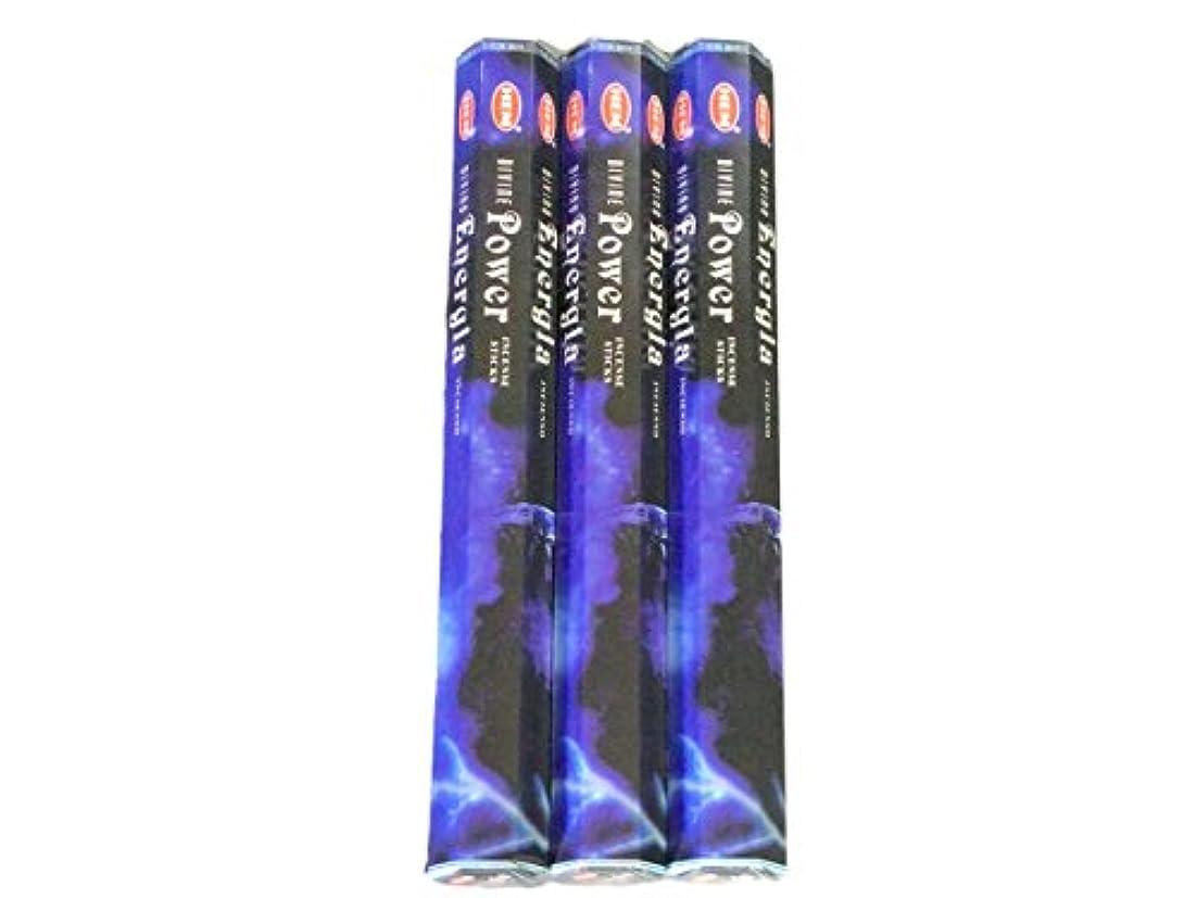 ストレスの多い投資する黒板HEM ヘム パワー Power ステック お香 3箱