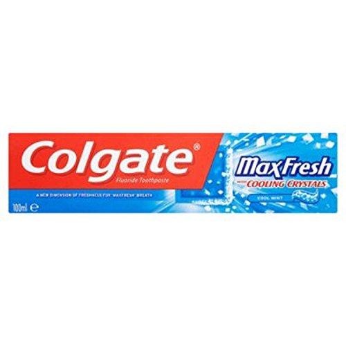 Colgate Max Fresh Blue 100ml toothpaste - コルゲートマックス新鮮な青100ミリリットル歯磨き粉 (Colgate) [並行輸入品]