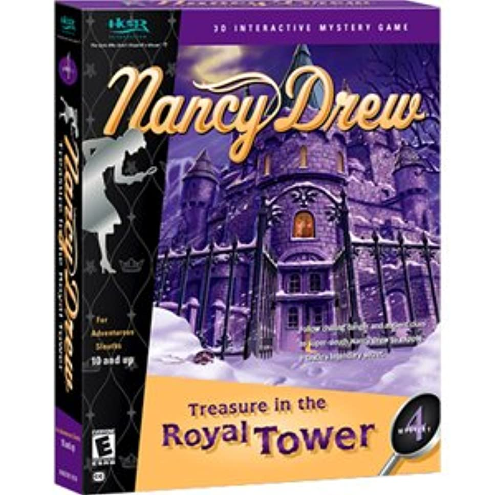 征服者保持する持参Nancy Drew Treasure in the Royal Tower Mystery 4 (輸入版)