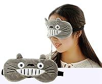 ホットアイマスク USB電熱式 蒸気アイマスク アイマッサージャー タイマー設定 温度調節 疲れ目緩和 睡眠アイマスク 快眠グッズ(醜い猫)