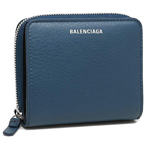 [バレンシアガ]折財布 レディース BALENCIAGA 516366 DLQ0N 4205 ネイビー [並行輸入品]