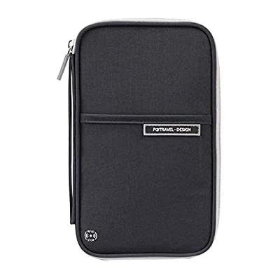 VRIKOO Travel Wallet Passport Holder Document Organiser Case