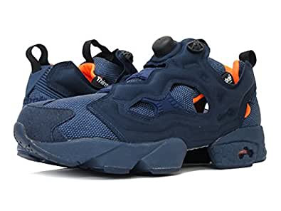[リーボック]Reebok INSTA PUMPFURY TECH COLLEGE NAVY/SOLAR ORANGE/WHITE