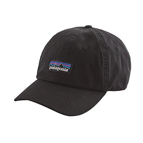 パタゴニア(patagonia) P-6 Label Trad Cap(P-6 ラベル トラッド キャップ) Men's BLK(Black) ワンサイズ 38207