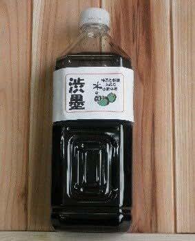 天然塗料『木の国・渋墨1800ml』