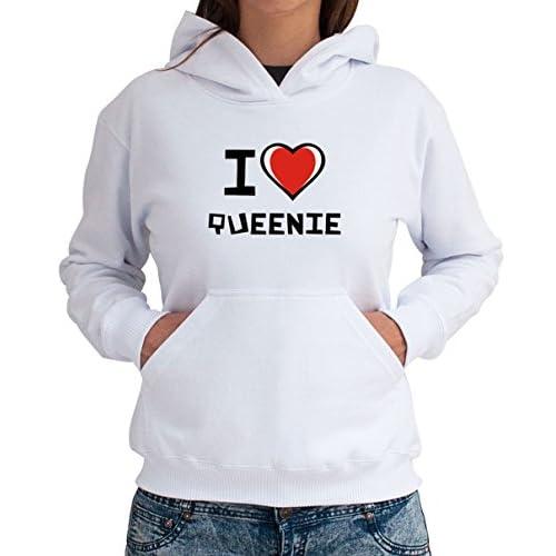 I love Queenie Women 女性パーカー