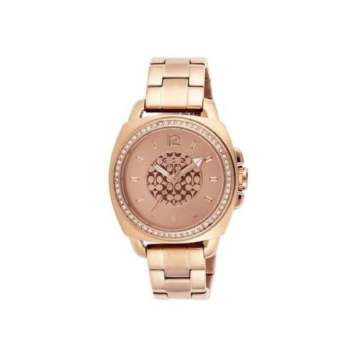 (コーチ)COACH 腕時計 レディース COACH 14501387 BOYFRIEND MIN ボーイフレンドミニ 時計/ウォッチ ピンクゴールド[並行輸入品]