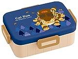 スケーター 4点ロック ランチボックス 650ml 弁当箱 トトロ ネコバス となりのトトロ YZFL7