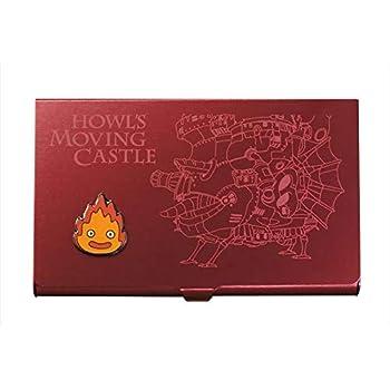 スタジオジブリ作品 メタルカードケース 16 ハウルの動く城 ワインレッドカルシファー