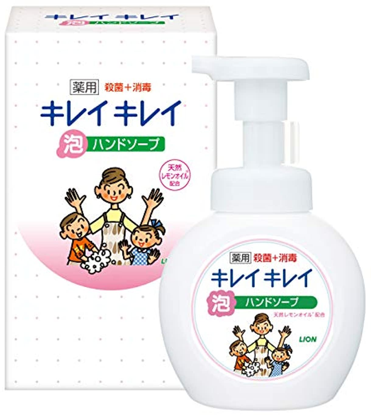 蒸レギュラーロマンスLION キレイキレイ薬用泡ハンドソープ250ml ノベルティギフト用化粧箱入