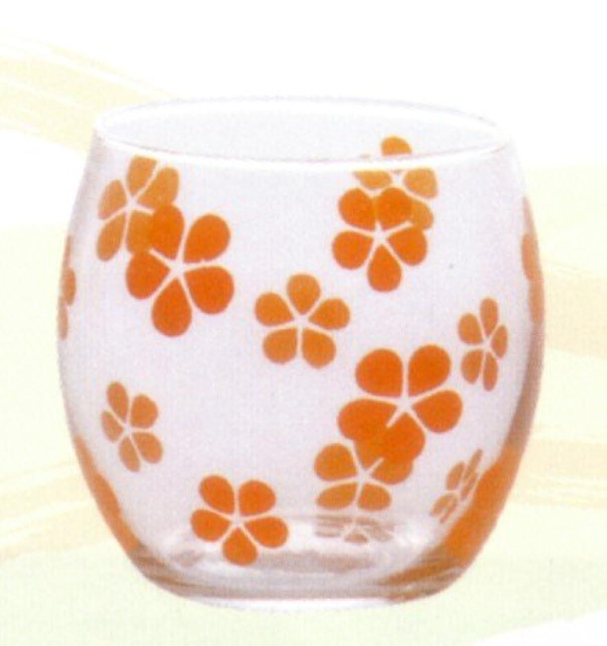 効率的にグラス完全にキャンドルグラス はなはな やまぶき