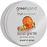 greenland [FruitEmotions] ボディスクラブ 200ml グレープフルーツ&ジンジャー FE0425