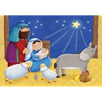 Baby in a Manger Advent Calendar by Vermont Christmas Company [並行輸入品]