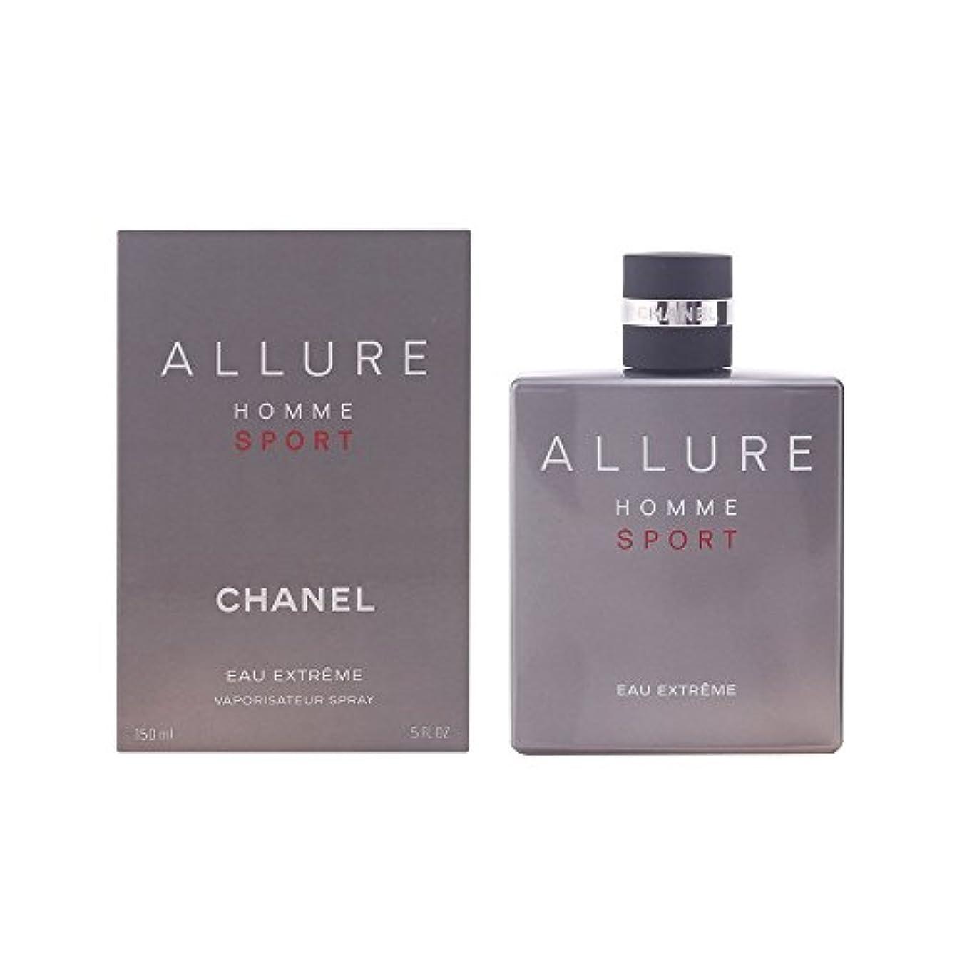 アルカトラズ島レイア完璧なシャネル(CHANEL) Allure Homme Sport Eau Extreme Eau De Parfum Spray 150ml/5oz[並行輸入品]