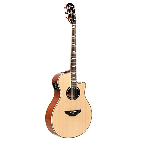 New Yamaha Electric Acoustic Guitar Apx1000 Natural Nt Apx-1000 Acoustic Electric Guitars Guitars & Basses