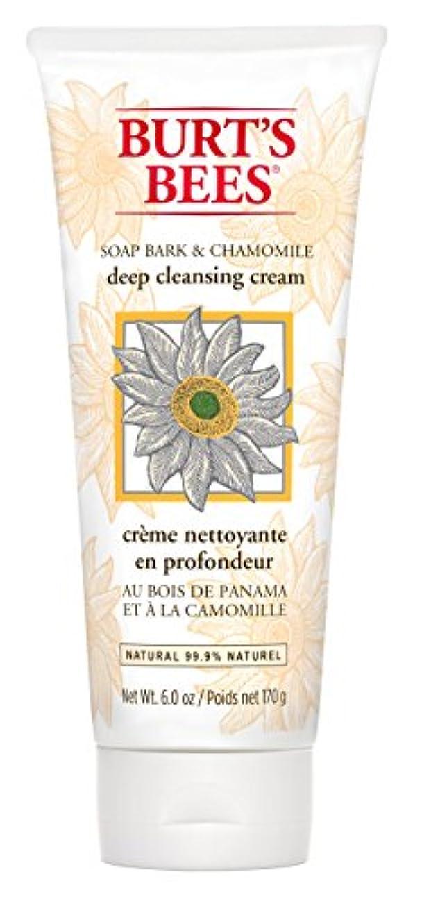 柱オーバーヘッドコインランドリーBurt's Bees Soap Bark and Chamomile Deep Cleansing Creme