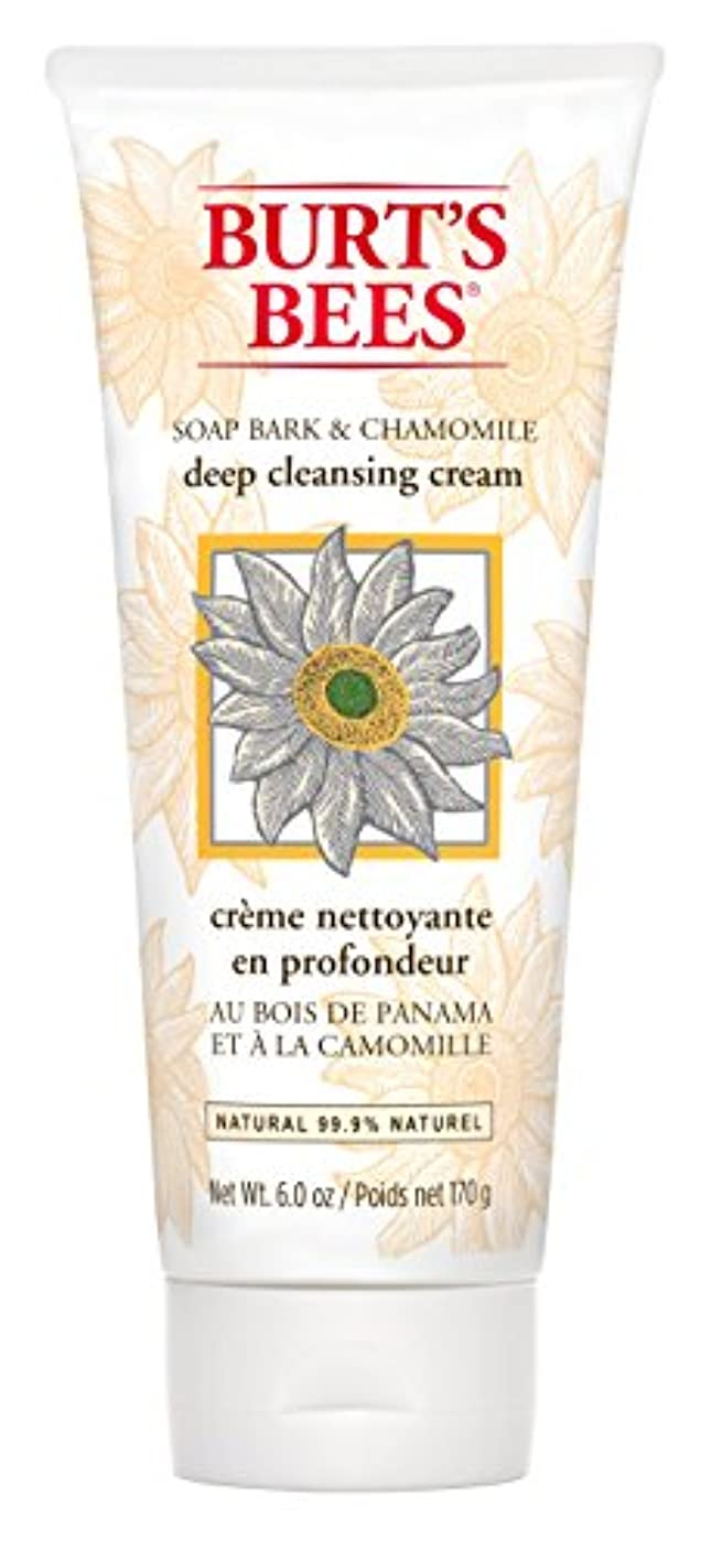 ポータルウイルス喪Burt's Bees Soap Bark and Chamomile Deep Cleansing Creme